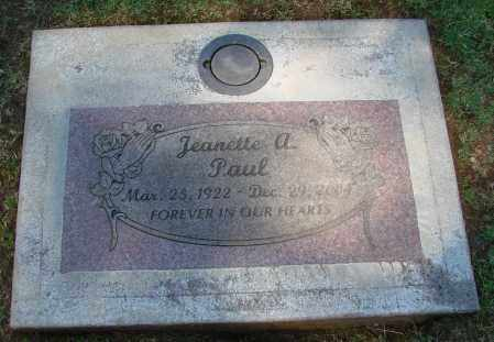 PAUL, JEANETTE A - Marion County, Oregon | JEANETTE A PAUL - Oregon Gravestone Photos