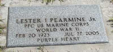 PEARMINE (WWII), LESTER I, JR - Marion County, Oregon   LESTER I, JR PEARMINE (WWII) - Oregon Gravestone Photos