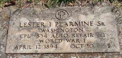 PEARMINE (WWI), LESTER I, SR - Marion County, Oregon | LESTER I, SR PEARMINE (WWI) - Oregon Gravestone Photos