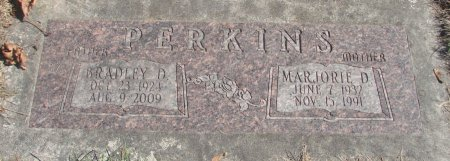 PERKINS, MARJORIE D - Marion County, Oregon | MARJORIE D PERKINS - Oregon Gravestone Photos