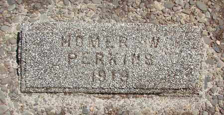 PERKINS, HOMER W - Marion County, Oregon | HOMER W PERKINS - Oregon Gravestone Photos