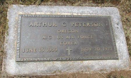 PETERSON, ARTHUR GLENN - Marion County, Oregon | ARTHUR GLENN PETERSON - Oregon Gravestone Photos
