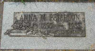 PETERSON, ANNA M - Marion County, Oregon | ANNA M PETERSON - Oregon Gravestone Photos