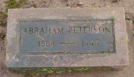 PETERSON, ABRAHAM - Marion County, Oregon | ABRAHAM PETERSON - Oregon Gravestone Photos