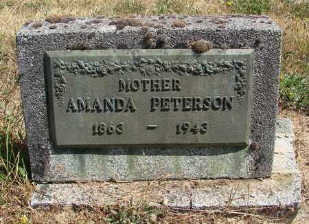 PETERSON, AMANDA - Marion County, Oregon   AMANDA PETERSON - Oregon Gravestone Photos
