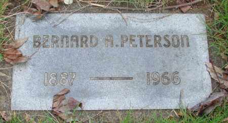 PETERSON, BERNARD A - Marion County, Oregon | BERNARD A PETERSON - Oregon Gravestone Photos