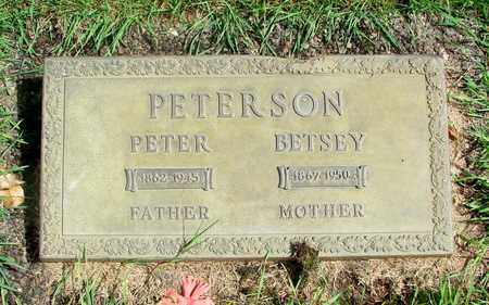 PETERSON, BETSEY - Marion County, Oregon | BETSEY PETERSON - Oregon Gravestone Photos