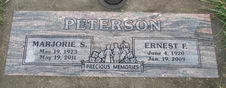 PETERSON, MARJORIE S - Marion County, Oregon | MARJORIE S PETERSON - Oregon Gravestone Photos