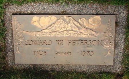 PETERSON, EDWARD WILLIAM - Marion County, Oregon | EDWARD WILLIAM PETERSON - Oregon Gravestone Photos