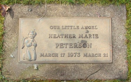 PETERSON, HEATHER MARIE - Marion County, Oregon | HEATHER MARIE PETERSON - Oregon Gravestone Photos