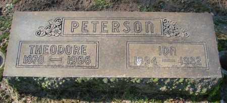 PETERSON, THEODORE - Marion County, Oregon | THEODORE PETERSON - Oregon Gravestone Photos
