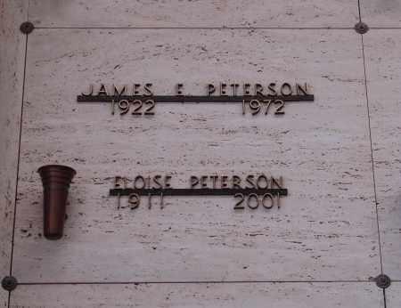 PETERSON, ELOISE - Marion County, Oregon | ELOISE PETERSON - Oregon Gravestone Photos