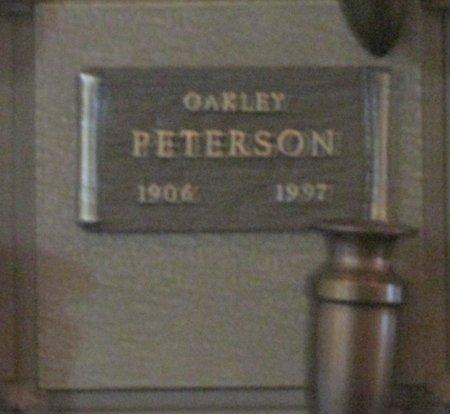 PETERSON, OAKLEY - Marion County, Oregon | OAKLEY PETERSON - Oregon Gravestone Photos