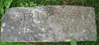PETERSON, PETER LEWIS - Marion County, Oregon | PETER LEWIS PETERSON - Oregon Gravestone Photos