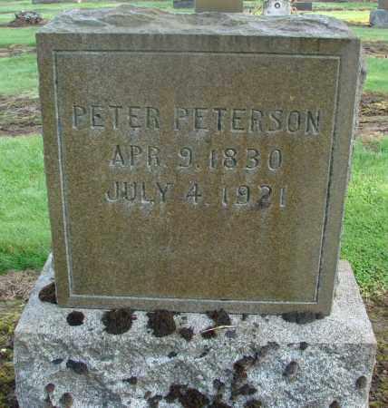 PETERSON, PETER - Marion County, Oregon | PETER PETERSON - Oregon Gravestone Photos