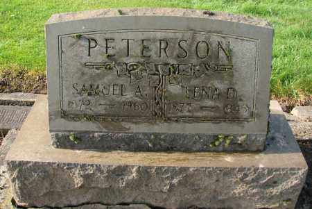 PETERSON, LENA D - Marion County, Oregon | LENA D PETERSON - Oregon Gravestone Photos