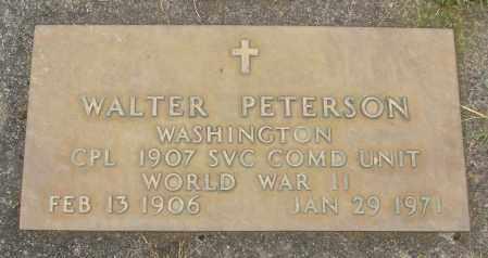 PETERSON, WALTER - Marion County, Oregon | WALTER PETERSON - Oregon Gravestone Photos