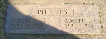 PHILLIPS, ADOLPH J - Marion County, Oregon | ADOLPH J PHILLIPS - Oregon Gravestone Photos