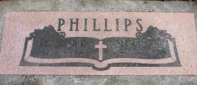 PHILLIPS, SELMA ANN - Marion County, Oregon | SELMA ANN PHILLIPS - Oregon Gravestone Photos