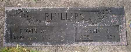 PHILLIPS, NELIA M - Marion County, Oregon | NELIA M PHILLIPS - Oregon Gravestone Photos