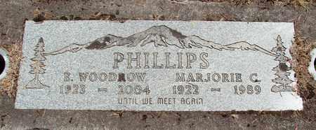 PHILLIPS, MARJORIE CATHERINE - Marion County, Oregon | MARJORIE CATHERINE PHILLIPS - Oregon Gravestone Photos