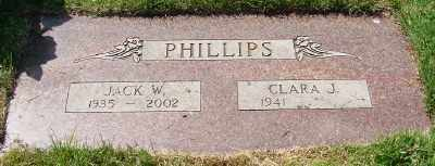 PHILLIPS, JACK W - Marion County, Oregon | JACK W PHILLIPS - Oregon Gravestone Photos