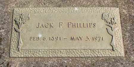 PHILLIPS, JACK F - Marion County, Oregon   JACK F PHILLIPS - Oregon Gravestone Photos