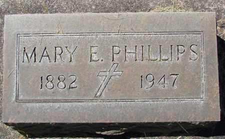 PHILLIPS, MARY E - Marion County, Oregon   MARY E PHILLIPS - Oregon Gravestone Photos