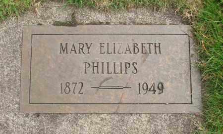 PHILLIPS, MARY ELIZABETH - Marion County, Oregon | MARY ELIZABETH PHILLIPS - Oregon Gravestone Photos