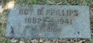 PHILLIPS, ROY B - Marion County, Oregon   ROY B PHILLIPS - Oregon Gravestone Photos