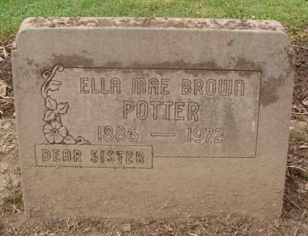 BROWN, ELLA MAE - Marion County, Oregon | ELLA MAE BROWN - Oregon Gravestone Photos