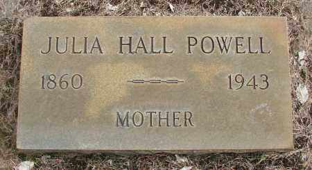 HALL, JULIA - Marion County, Oregon | JULIA HALL - Oregon Gravestone Photos