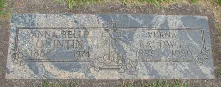 QUINTEN, ANNA BELLE - Marion County, Oregon | ANNA BELLE QUINTEN - Oregon Gravestone Photos