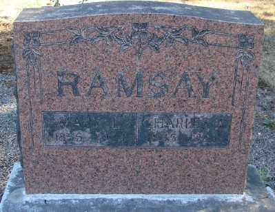 ALLEN RAMSAY, MARY LOVINA - Marion County, Oregon | MARY LOVINA ALLEN RAMSAY - Oregon Gravestone Photos