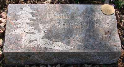 RAMSEYER, DAVID C - Marion County, Oregon | DAVID C RAMSEYER - Oregon Gravestone Photos