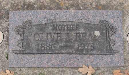 REAL, OLIVE I - Marion County, Oregon | OLIVE I REAL - Oregon Gravestone Photos