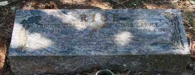 RICE, LORNA GRAYCE - Marion County, Oregon | LORNA GRAYCE RICE - Oregon Gravestone Photos