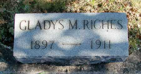RICHES, GLADYS MARY - Marion County, Oregon | GLADYS MARY RICHES - Oregon Gravestone Photos