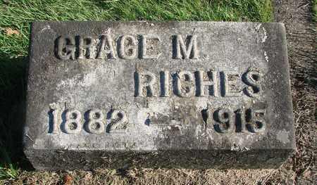 RICHES, GRACE M - Marion County, Oregon | GRACE M RICHES - Oregon Gravestone Photos