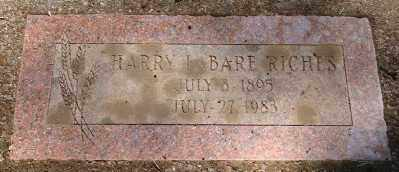 RICHES, HARRY LABARE - Marion County, Oregon | HARRY LABARE RICHES - Oregon Gravestone Photos