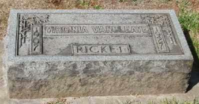 VAN CLEAVE, VIRGINIA - Marion County, Oregon | VIRGINIA VAN CLEAVE - Oregon Gravestone Photos