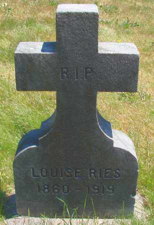 RIES, LOUISE - Marion County, Oregon | LOUISE RIES - Oregon Gravestone Photos