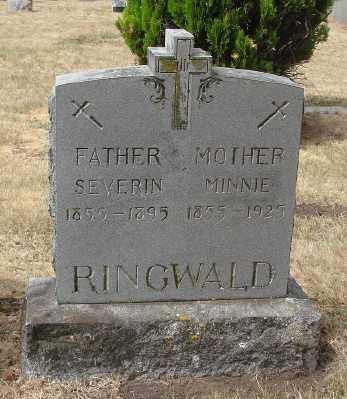 RINGWALD, WILHELMINA - Marion County, Oregon | WILHELMINA RINGWALD - Oregon Gravestone Photos