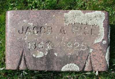 RISE, JACOB - Marion County, Oregon   JACOB RISE - Oregon Gravestone Photos
