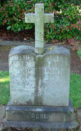 ROBL, MARGARET - Marion County, Oregon | MARGARET ROBL - Oregon Gravestone Photos