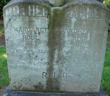 ROBL, ANDREAS - Marion County, Oregon | ANDREAS ROBL - Oregon Gravestone Photos