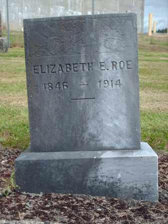 ROE, ELIZABETH E. - Marion County, Oregon | ELIZABETH E. ROE - Oregon Gravestone Photos