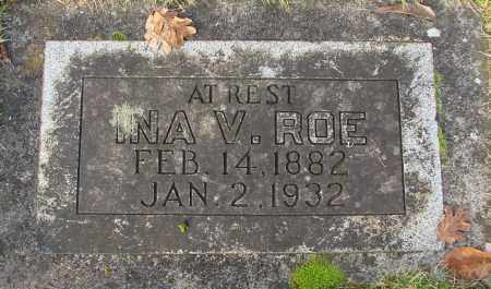 ROE, INA V - Marion County, Oregon | INA V ROE - Oregon Gravestone Photos