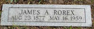 ROREX, JAMES A - Marion County, Oregon | JAMES A ROREX - Oregon Gravestone Photos