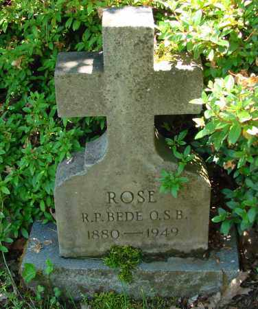 ROSE, BEDE - Marion County, Oregon | BEDE ROSE - Oregon Gravestone Photos